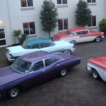 m_carpark full of USA cars